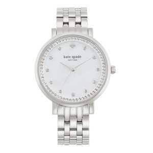 NWOT Kate Spade Monterey Crystal Stainless Watch